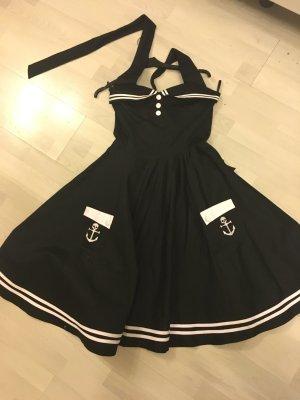 Hell Bunny Vixxen Petticoat Anker dress