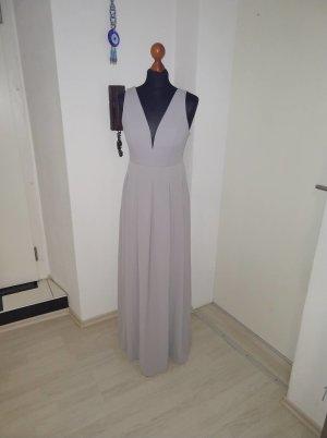 Hell Grau Kleid