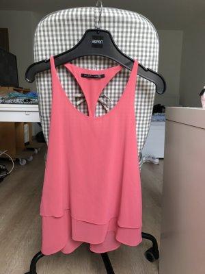 hell pinkes Top von Zara