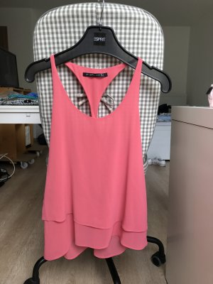 hell pinkes Top - Zara