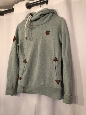 Naketano Hooded Sweatshirt turquoise