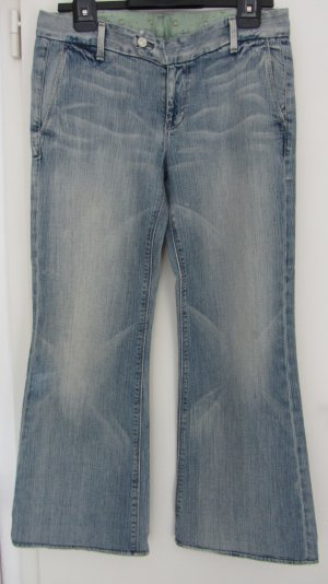"Hell ""washed"" blau Jeans von 7 for All Mankind Gr.36/38"