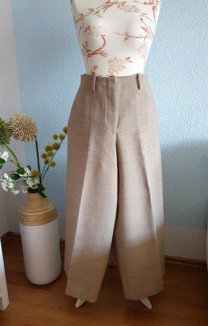 COS Pantalone culotte beige chiaro-beige Tessuto misto