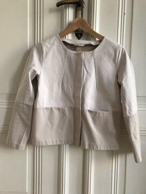 Hellbeige Jacke / Blazer Größe 34 H&M Trend