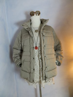 Blue Strenesse Quilted Jacket oatmeal polyester