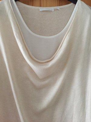 Hellbeiger langer Pullover von Charles Vögele in Größe L