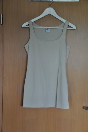 Hellbeiges Basic-Tanktop