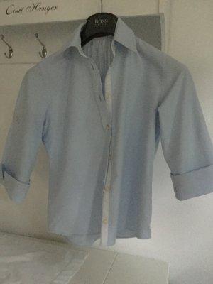 Hellblau Damen Kurzhemd 36