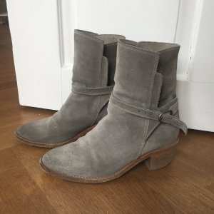 Hellblau graue Stiefeletten Gr. 36 All Saints