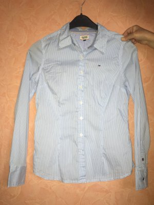 Hellblau-weiße Bluse von Tommy Hilfiger