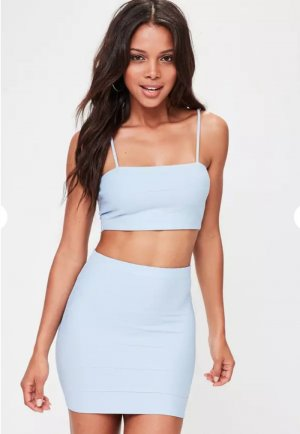 Missguided Twin set azzurro