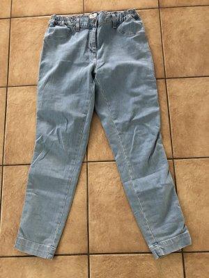 hellblaue / blaue Jeans mit Gummibund von Bonita - Gr. 42