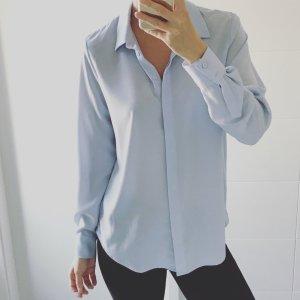 H&M Camicetta a maniche lunghe celeste-azzurro