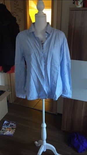 Hellblaue bluse Größe 42