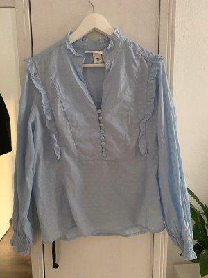 Hellblaue Bluse H&M