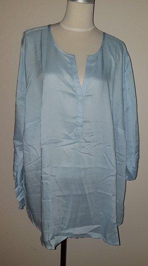 hellblaue Bluse in Größe 52 neu von sheego