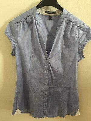 hellblaue Bluse von Esprit, Größe 34