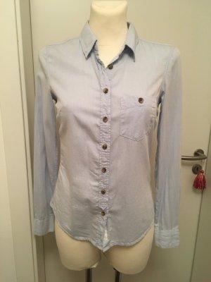 Hellblaue Bluse von H&M Gr. 34