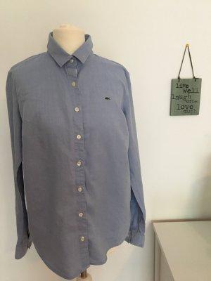 Hellblaue Bluse von Lacoste