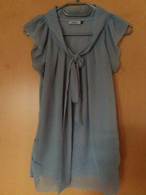 hellblaue Bluse von Only, Größe 34