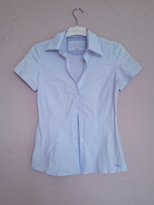 QS by s.Oliver Blouse bleu clair