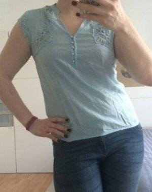 Hellblaue Bluse von Vero Moda Größe M