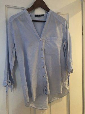 Zara Shirt Blouse azure