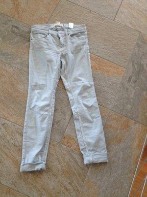 Hellblaue Chino Hose / Jeans Frühling Sommer Größe 34/36