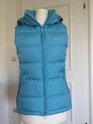 H&M Sport Down Vest baby blue polyester