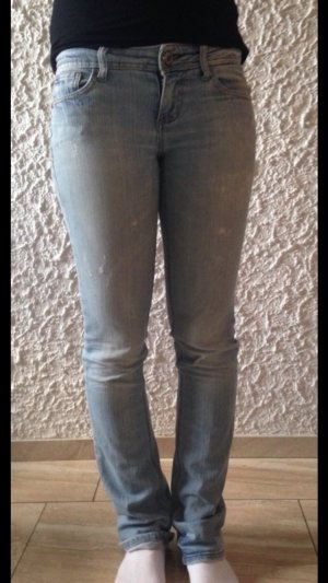 Hellblaue denim Jeans