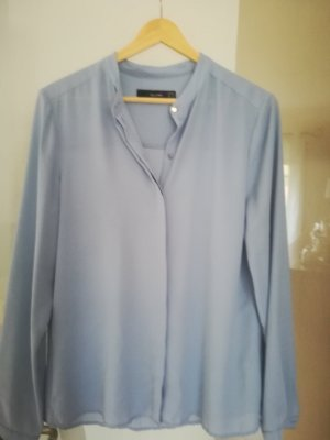Hallhuber Blouse pale blue polyester