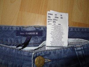 Atelier Gardeur Tube Jeans pale blue cotton