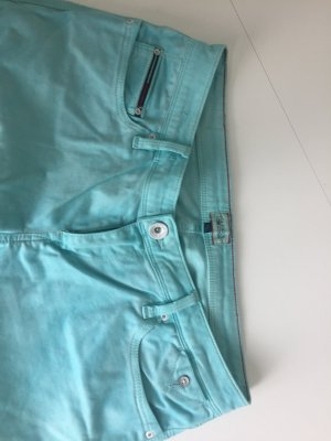 Tommy Hilfiger Skinny Jeans baby blue cotton