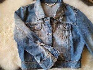hellblaue Jacke Jeansjacke Jeans Oberteil von Tom Tailor Gr. 36 s smal wie neu