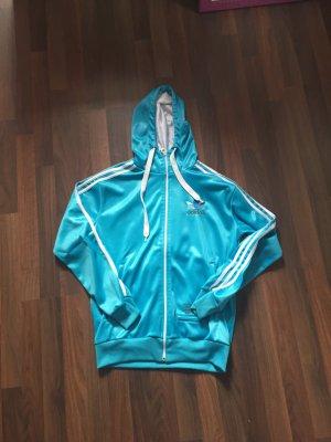 Hellblaue Jacke von Adidas
