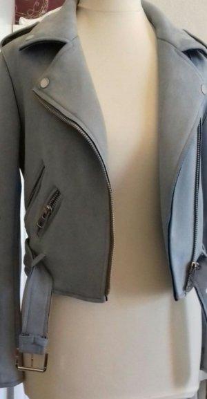 hellblaue Jacke von Zara