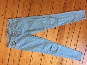 Zara Wortel jeans lichtblauw