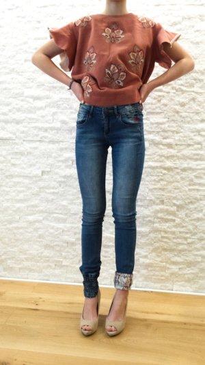 Desigual Jeans multicolored cotton