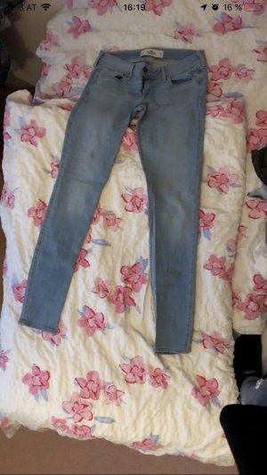 Hollister Tube Jeans azure
