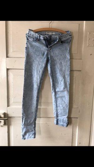 Fashion New York Jeans cigarette bleu azur