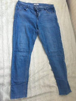 Pull & Bear Jeans stretch bleu azur