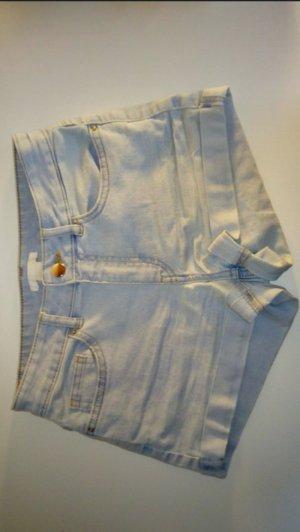 H&M Pantaloncino di jeans azzurro Cotone