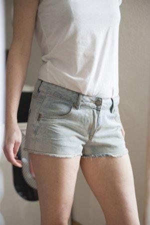 Hellblaue Jeansshorts von H&M
