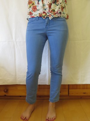 Hellblaue knöchellange Jeans von Mac