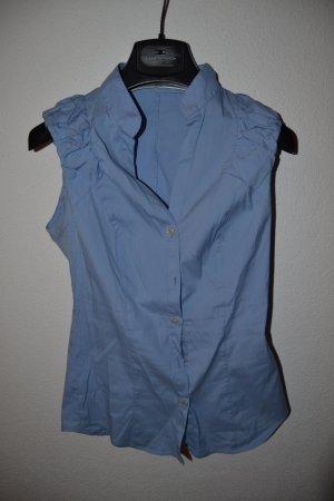 Hellblaue Kurzarmbluse Gr. XS von Sisley