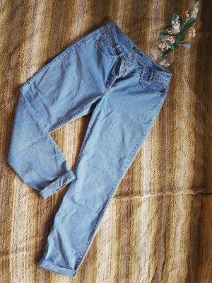 Adagio Jeans carotte bleu azur