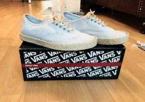 Hellblaue neue Espadrille Authentic low top VANS 39