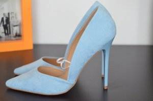 Hellblaue Pumps / High Heels
