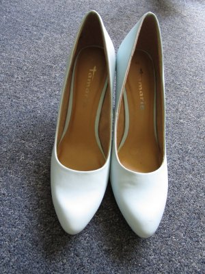 Hellblaue Pumps Tamaris n