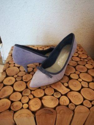 Tamaris Pumps light blue leather